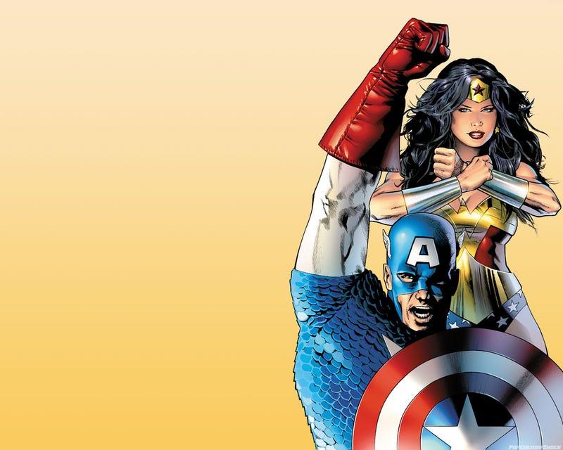 Wonder Women Fucked Captain America
