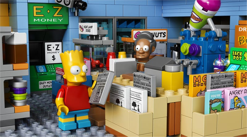 Illustration for article titled The Official LEGO Kwik-E-Mart Is Also Cursed