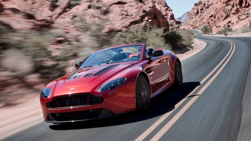 Illustration for article titled ​Aston Martin V12 Vantage S Roadster: This Is It