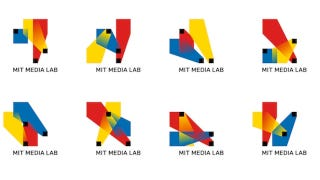 Illustration for article titled MIT Media Lab Made Itself a Self-Generating, 40,000 Variant Logo