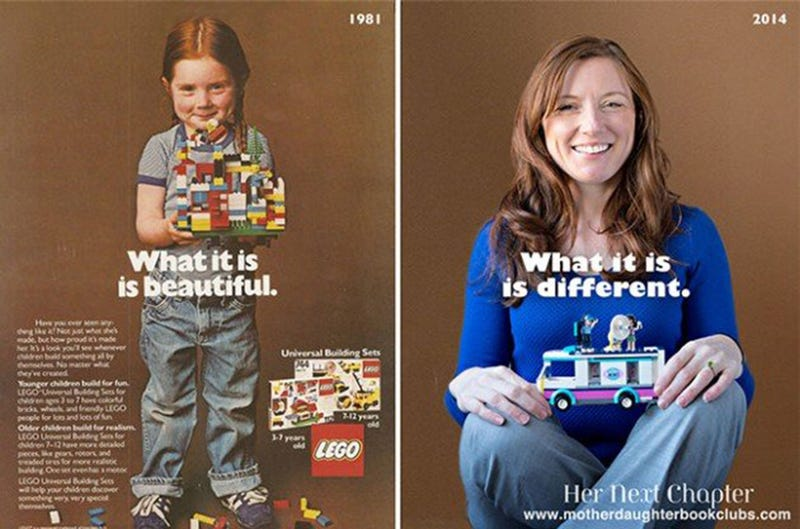 Illustration for article titled The girl from the 1981 Lego ad is now a doctor and still loves it