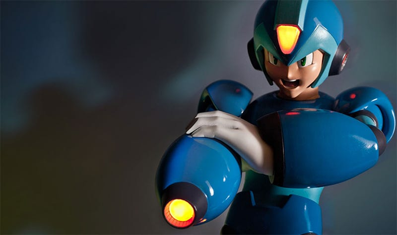Illustration for article titled Mega Man X Makes A Much Cooler Statue Than The Original