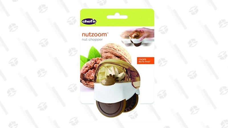 Chef'n NutZoom Nut Chopper | $9 | Amazon