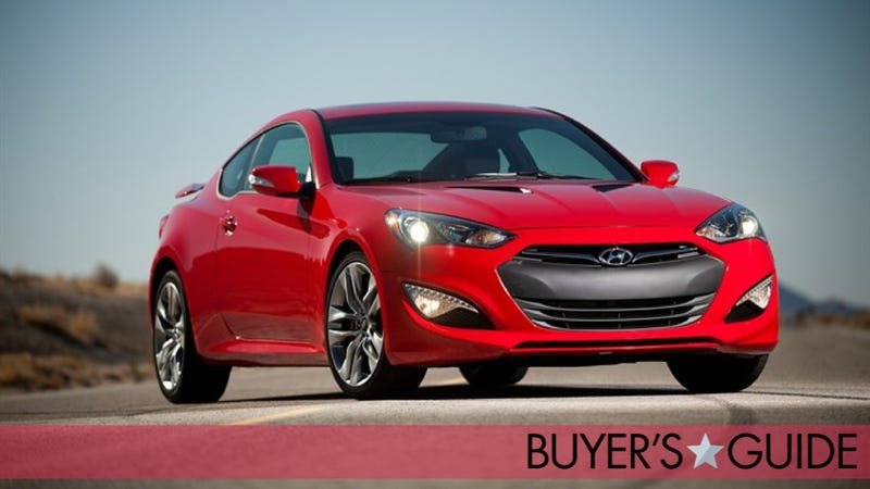 Illustration for article titled Hyundai Genesis Coupe: Jalopnik Buyer's Guide