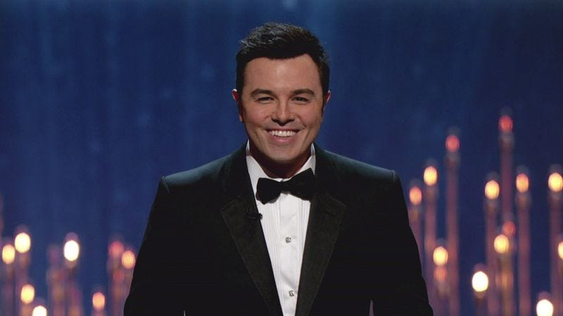 Illustration for article titled Seth MacFarlane is releasing a Christmas record