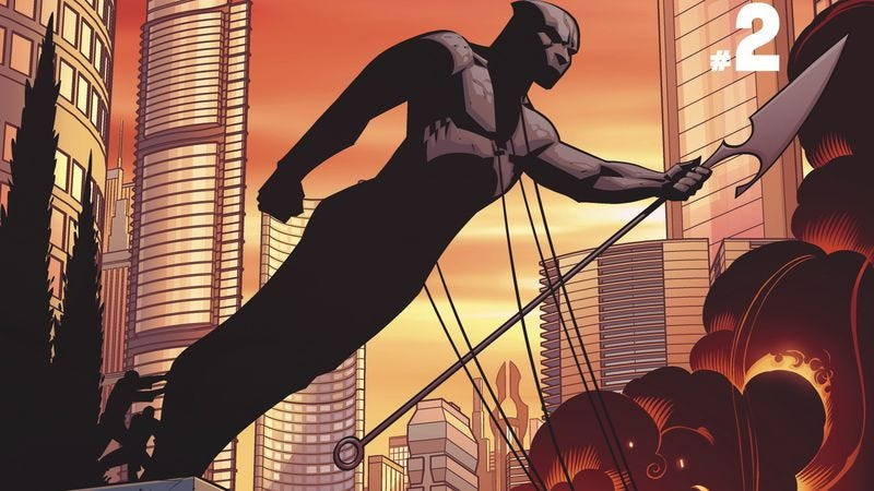 Illustration for article titled Marvel exclusive: T'Challa stands up for his people in Ta-Nehisi Coates' Black Panther #2