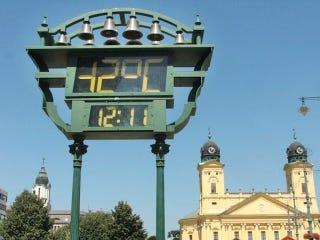 Illustration for article titled Debrecenben megdőlt a hidegrekord