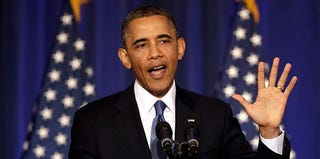 President Obama addresses counterterrorism in Washington, D.C. on May 23, 2013. (Win McNamee/Getty)