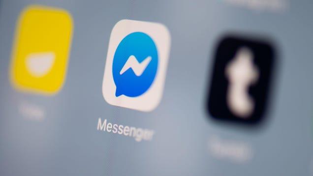 Facebook Makes Using Its Messenger App Simple Again