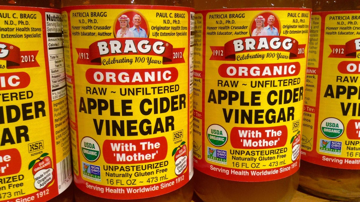 Apple Cider Vinegar Isnt The Miracle Elixir Its Cracked Up To Be Bragg 473 Ml