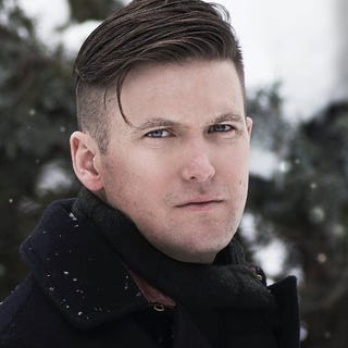 """Richard Spencer, who coined the phrase """"alt-right"""" and is the poster boy for the movement (@RichardBSpencer via Twitter)"""