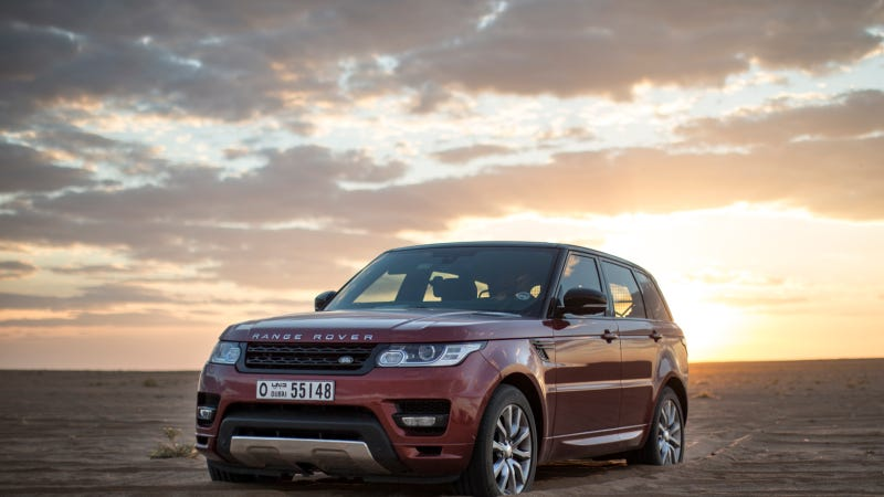 Illustration for article titled New Range Rover Sport Sets Fastest Recorded Time For 'Empty Quarter' Crossing