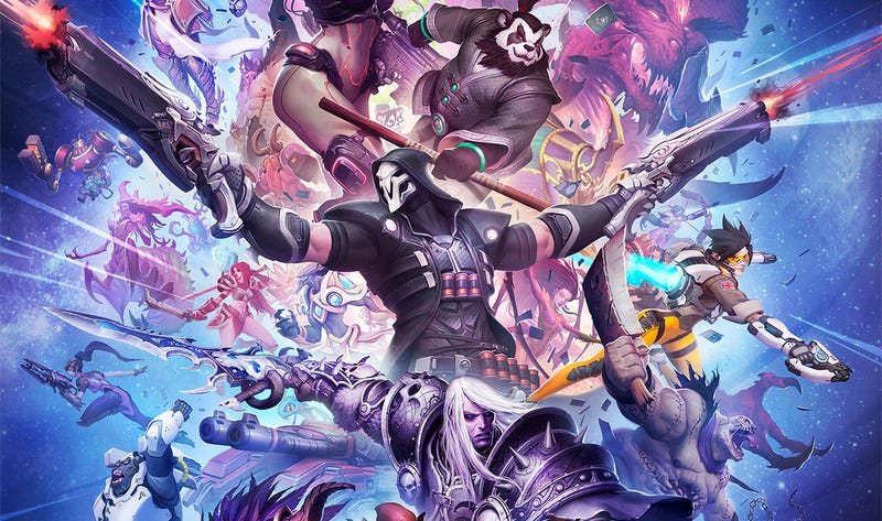 Illustration for article titled That Is A Lot Of Blizzard Characters