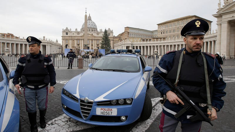 Ilration For Article Led Italy Has Amazing Police Cars