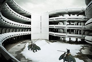 Illustration for article titled Stormtroopers In The Parking Garage