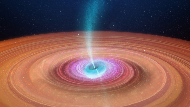 Astronomers Make Movie of Black Hole Spinning Like a Top