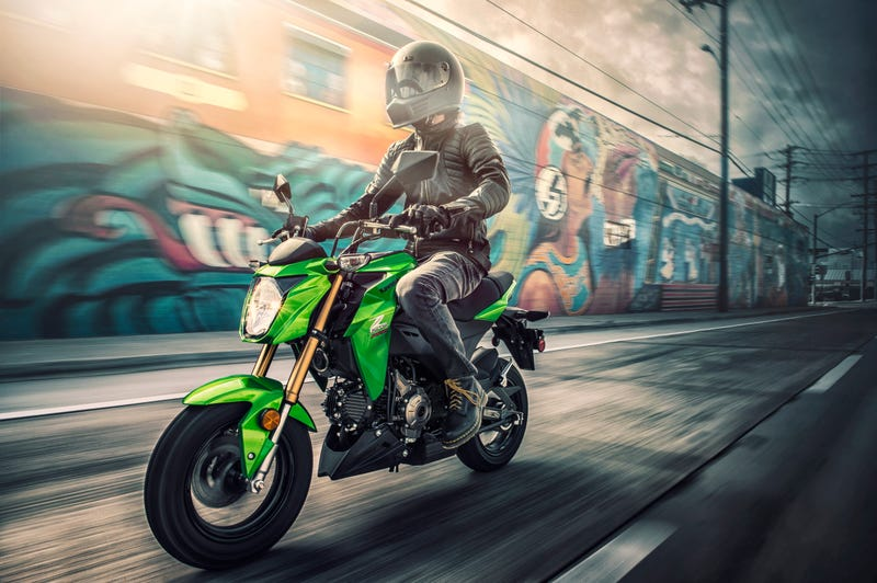 Illustration for article titled Kawasaki's Z125 Pro Grom-Fighter Is Coming To The U.S. For $2,999