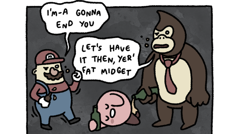 Illustration for article titled 9/29/2014: Super Smashed Bros.