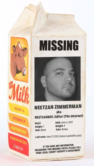 Illustration for article titled Where is Neetzan?