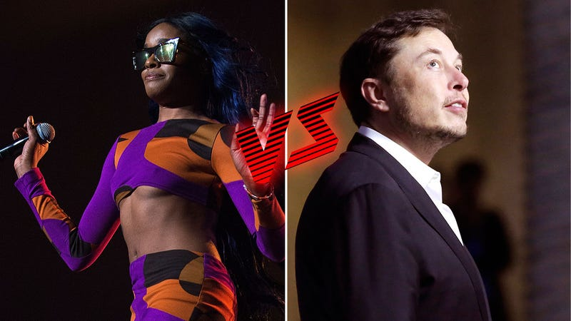 Illustration for article titled Was Elon Musk Tweeting on Acid? Azealia Banks Says Yes