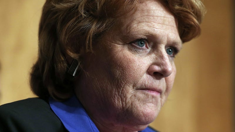 Illustration for article titled Sen. Heidi Heitkamp Apologizes For Outing Survivors of Domestic Abuse and Sexual Assault in Campaign Ad