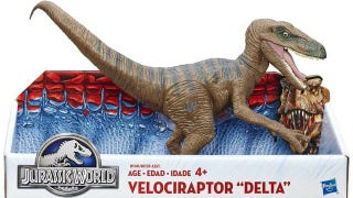 Illustration for article titled The Jurassic World Dinosaur Toys Are Clever Girls Again