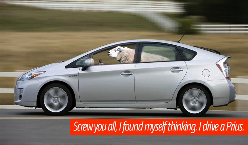 Illustration for article titled Screw You, I Love The Prius