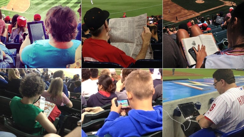 Illustration for article titled How Many Consecutive Pitches Can A Typical Baseball Fan Watch?