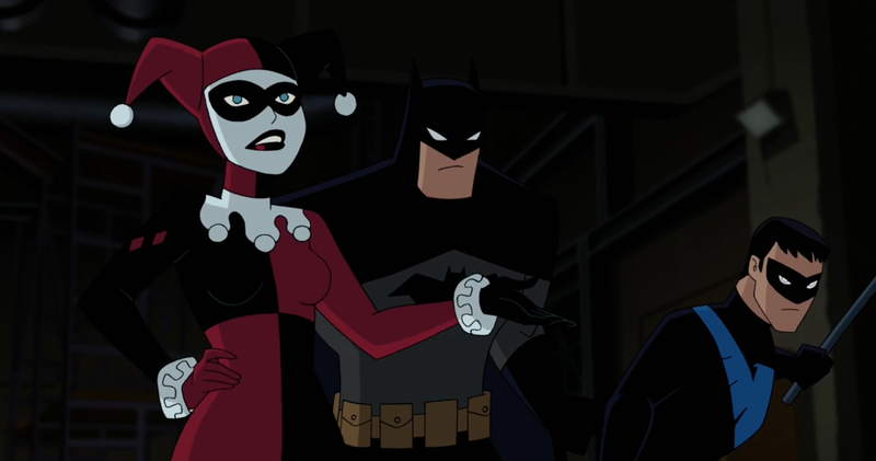 Illustration for article titled The First Full Trailer for Batman and Harley Quinn Marks a Return to Classic DC Animated Style