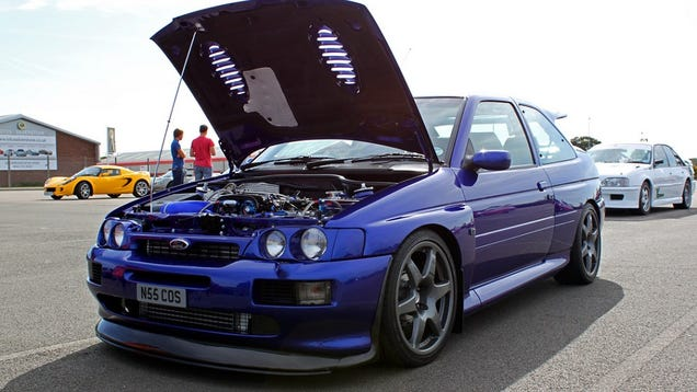 the 20 year old ford escort cosworth is legal and uncrushable. Black Bedroom Furniture Sets. Home Design Ideas