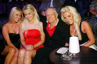 """Illustration for article titled Madam Claims Playmates For Hire; $10,000 A """"Date"""""""