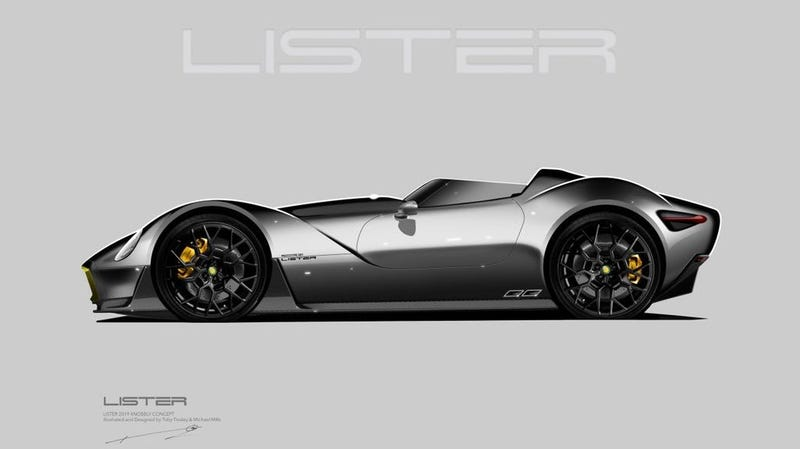 Illustration for article titled Lister Is Working On A Modern Knobbly, And It Looks Ridiculously Cool