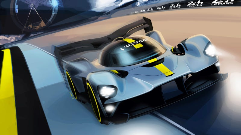 Illustration for article titled It's Happening: Aston Martin Will Take the Valkyrie to Le Mans' Reborn GT1-Style Class in 2021