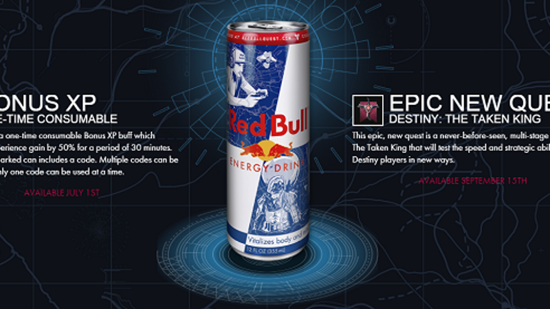 New Destiny Quest Is Exclusive To Red Bull