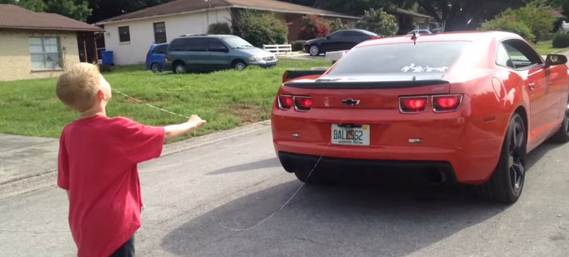 Illustration for article titled Florida Man Pulls His Kid's Loose Tooth With A Camaro SS