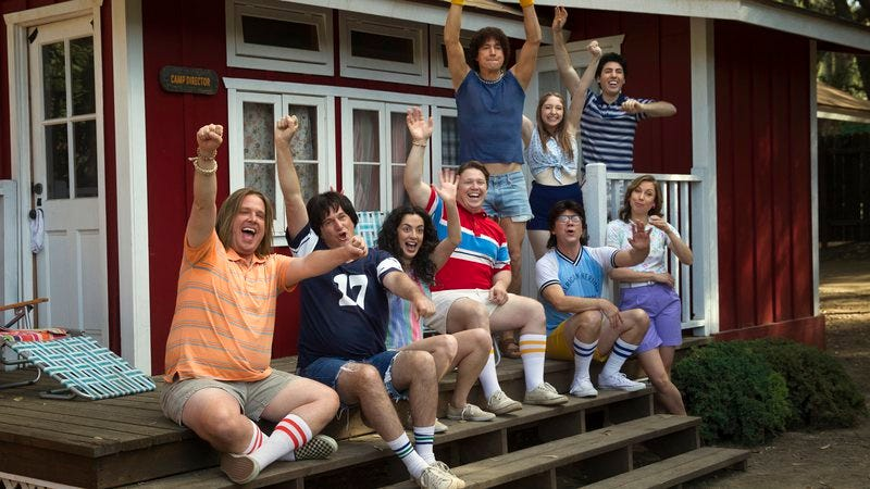 Illustration for article titled Wet Hot American Summer's First Day Of Camp is as sweet as the last