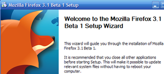 Illustration for article titled Firefox 3.1 Beta 1 Now Available for Download, First Look