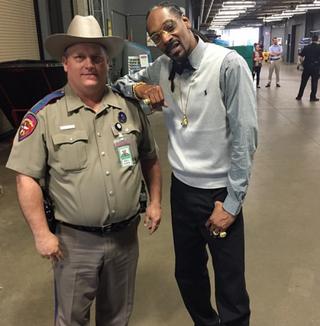 Sgt. Billy Spears and Snoop DoogInstagram
