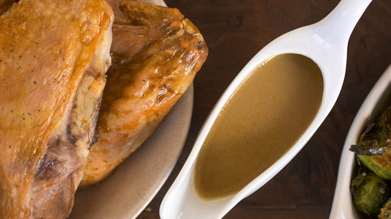Make a Quick and Simple Gravy With a Few Kitchen Staples