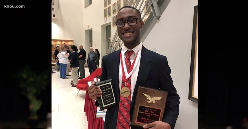 Image result for houston high school announces first ever black valedictorian