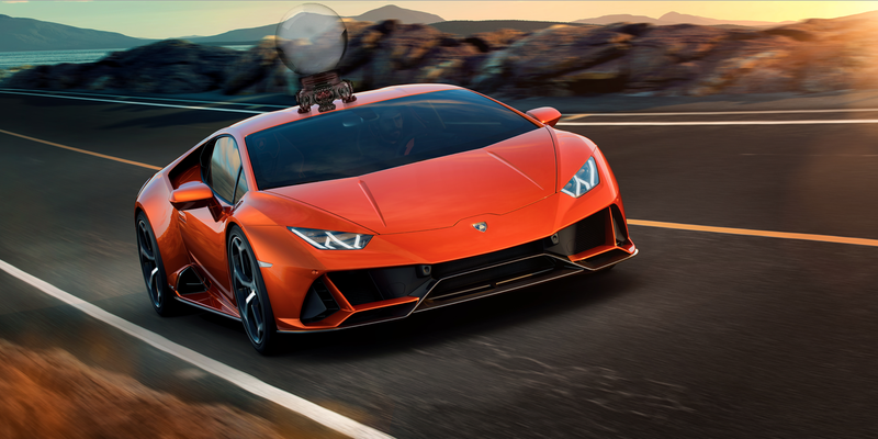 Illustration for article titled The New Lamborghini Huracán EVO Has More Power and a Scary Smart AI