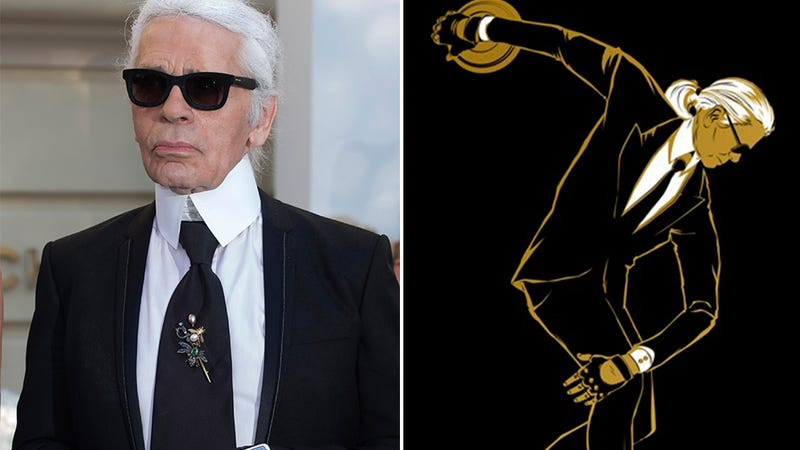 Illustration for article titled Karl Lagerfeld's Gold-Splattered Olympic Collection Debuts Tonight