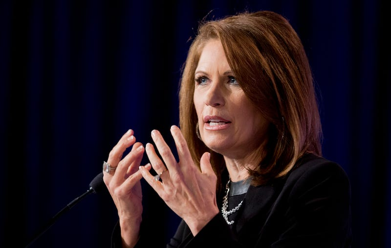 Illustration for article titled Thanks to Obama, Abortion, Michele Bachmann Is Bracing for The Rapture