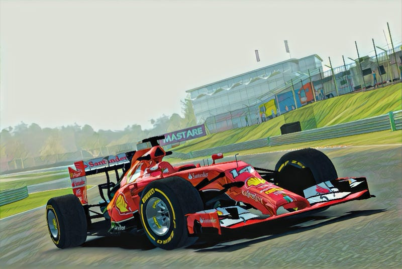 Illustration for article titled It took me 12 days to win this F1 car