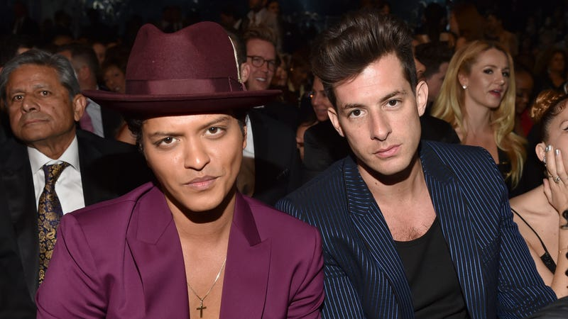 Bruno Mars and Mark Ronson (Photo: Lester Cohen/Getty Images)