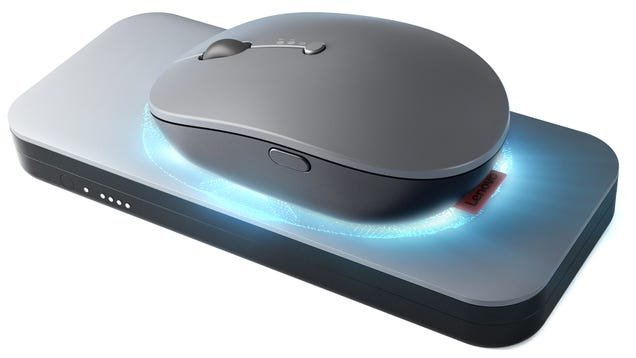 Apple Take Note: You Can Park Lenovo s New Cordless Mouse on a Wireless Charging Pad