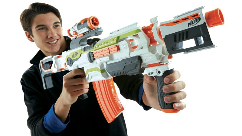 Illustration for article titled Nerf's New Modular Blaster Lets You Build Your Weapon of Choice
