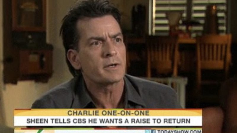 Illustration for article titled FINAL UPDATE: We asked for Charlie Sheen warlock pictures, and you delivered