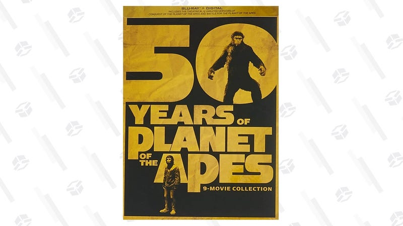 50 Years Of Planet Of The Apes: 9-movie Collection [Blu-ray + Digital] | $35 | Amazon
