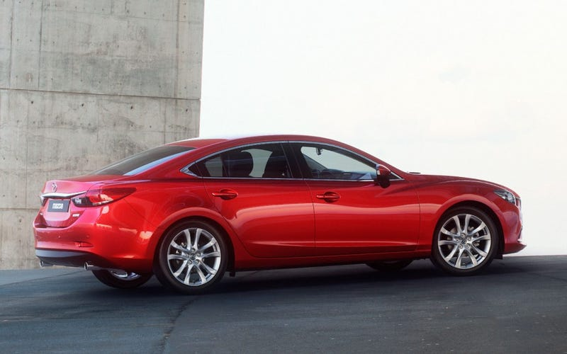 Illustration for article titled To Mazda 6, indeed.